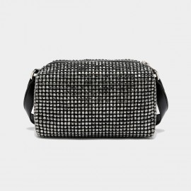 Cilela Diamante Black Shoulder Bag (CK-003075)