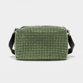 Cilela Diamante Green Shoulder Bag (CK-003075)