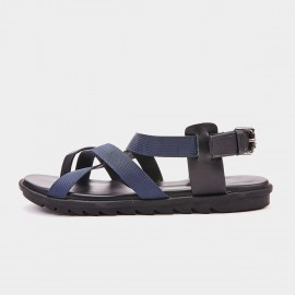 Herilios Contemporary Black Sandals (H9105L64)