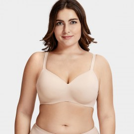Delimira Smooth Cup Beige Bra (W603)