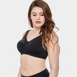 Delimira Staple Full Cup Black Bra (W634)