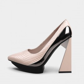 Jady Rose Attractive Apricot Pumps (20DR10703)