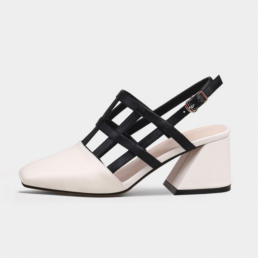 Jady Rose Comfy White Sandals (20DR10737)