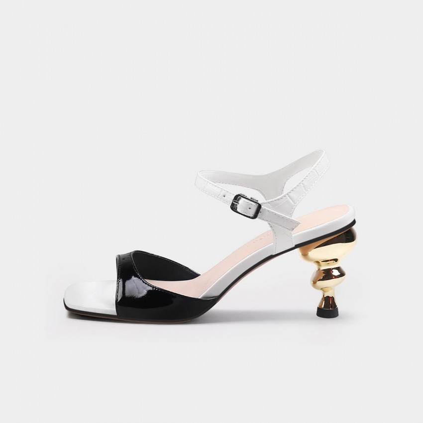 Jady Rose Free Black Sandals (20DR10745)