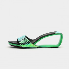Jady Rose State-Of-The Art Green Slippers (20DR10753)