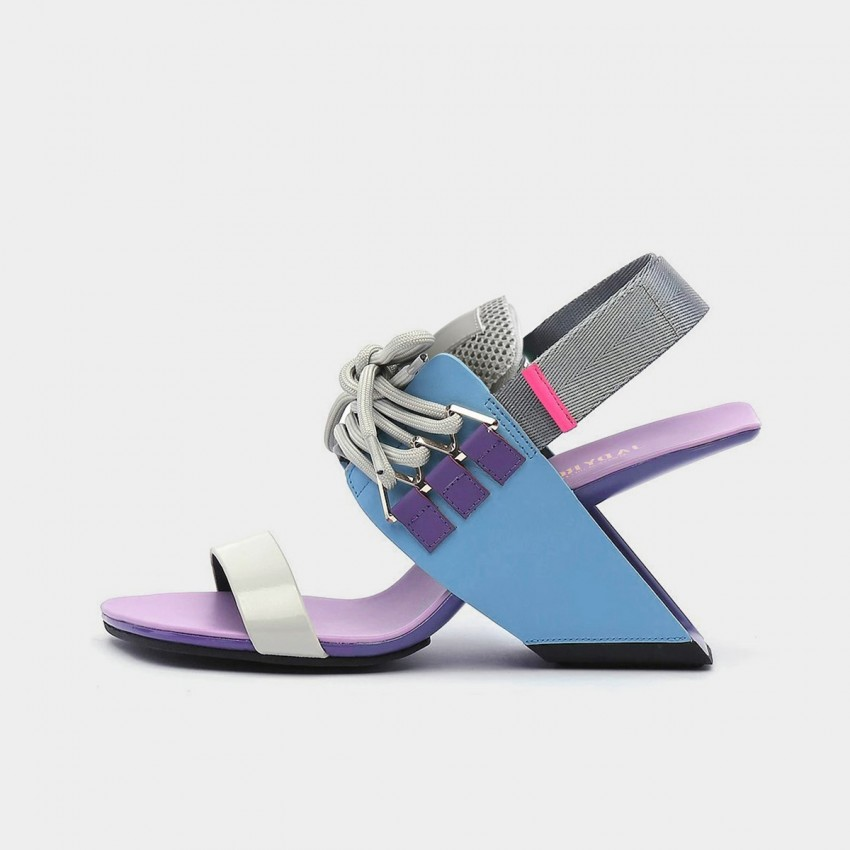 Jady Rose Punk Blue Sandals (20DR10758)
