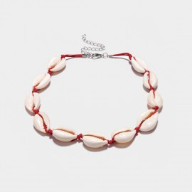 Coen C Shell House Red Necklace (C01859K1)