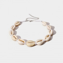 Coen C Shell House White Necklace (C01859K1)