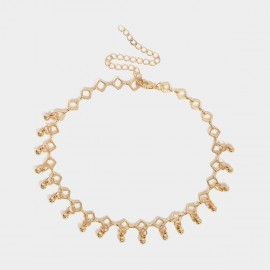 Coen C Spread Beads Gold Necklace (C01925K1)