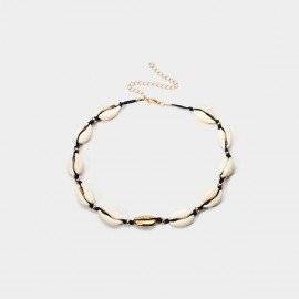 Coen C Shell Focus A Gold Necklace (C02007K1)