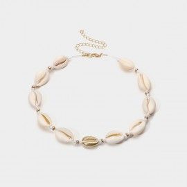 Coen C Shell Focus C Gold Necklace (C02009K1)