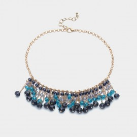 Coen C Beautiful Wave Blue Necklace (C02212K1)