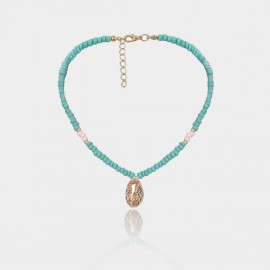 Coen C Summer Water Blue Necklace (C02370K1)