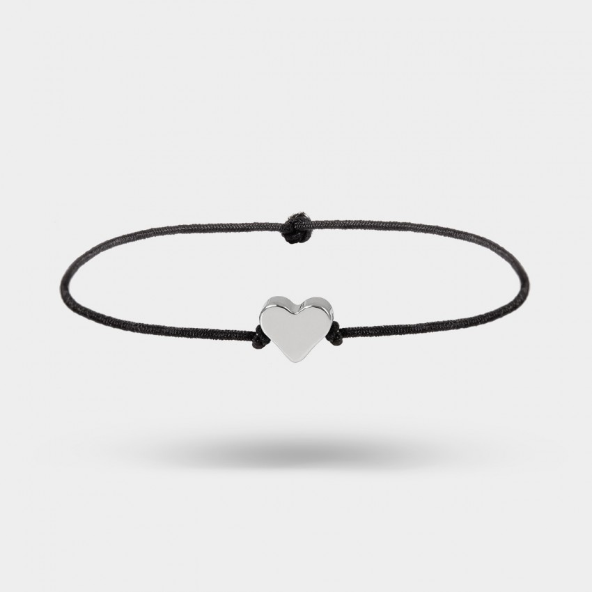 Coen C Power Heart Silver Bracelet (E00411K1)