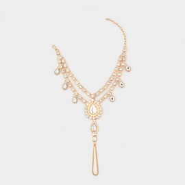 Coen C Tear Of Beauty Gold Anklet (H00278)