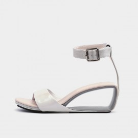 Jady Rose Casual Hollow Wedge Grey Sandals (20DR10759)