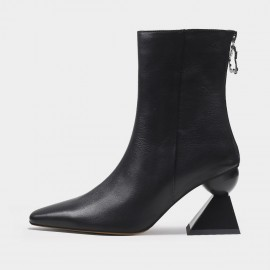 Jady Rose Edgy Cute Black Boots (20DR10787)