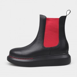 Jady Rose Everyday Platform Red Boots (20DR10793)