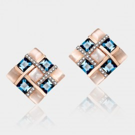 Caromay Blatancy Sapphire Earrings (E0165)