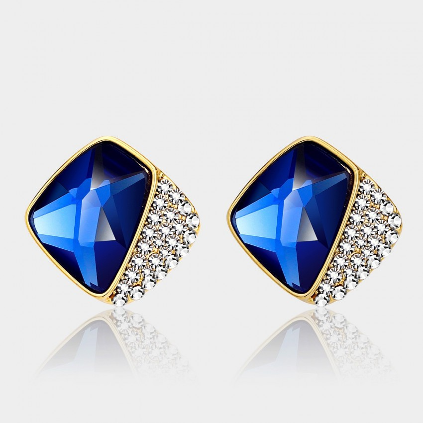 Caromay Dreaming Zone Sapphire Earrings (E0272)