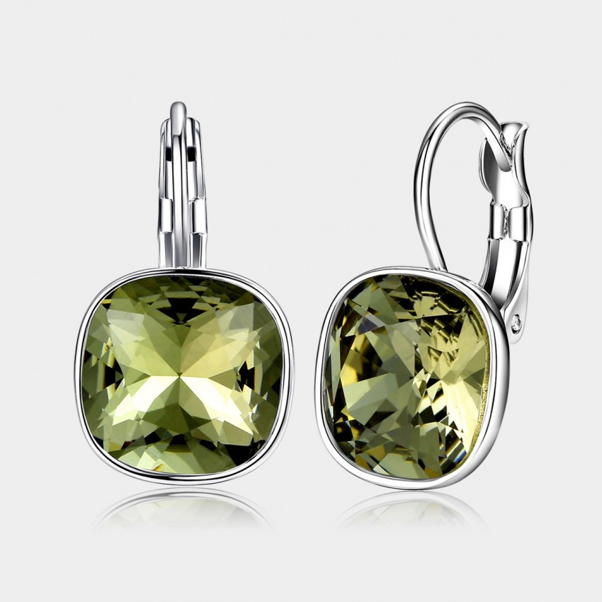 Caromay Shiny Life Green Earrings (E0331)