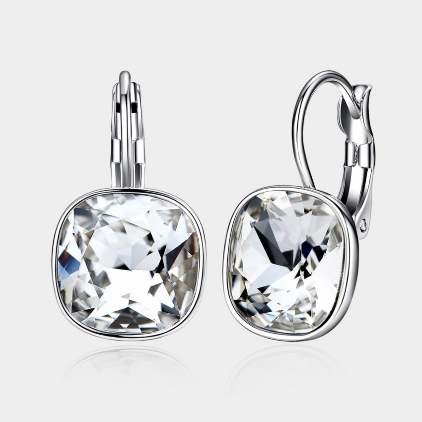 Caromay Shiny Life Silver Earrings (E0331)