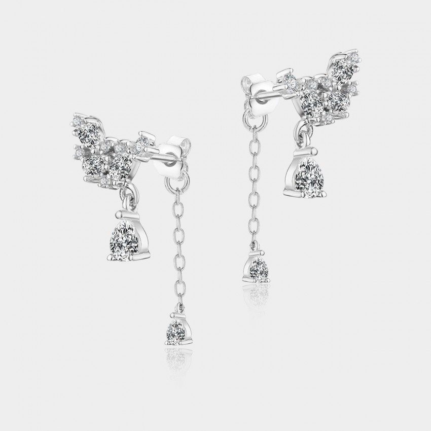 Caromay Love Nest Silver Earrings (E0451)