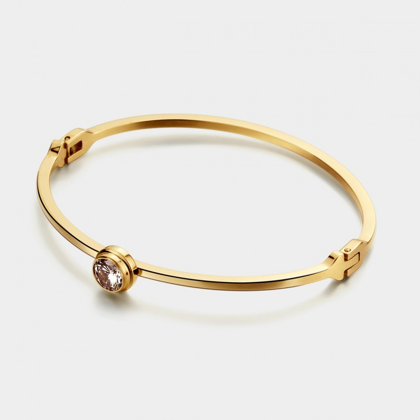 Caromay The Point Champagne Gold Bracelet (H0060)