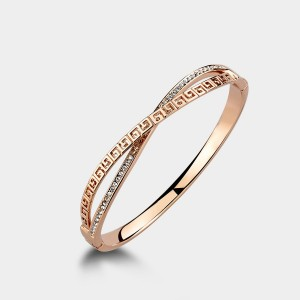 Caromay Capital G Rose Gold Bracelet (H0067)