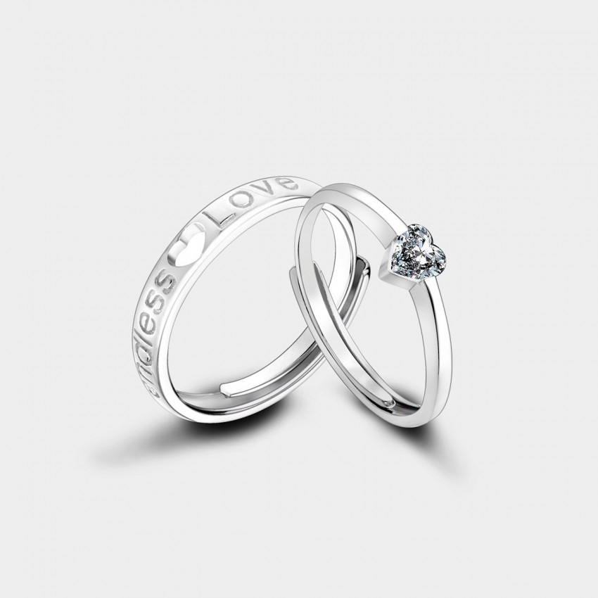 Caromay Endless Love Silver Ring (J0104)