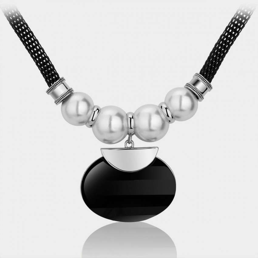Caromay Supremacy Silver Necklace (X0008)