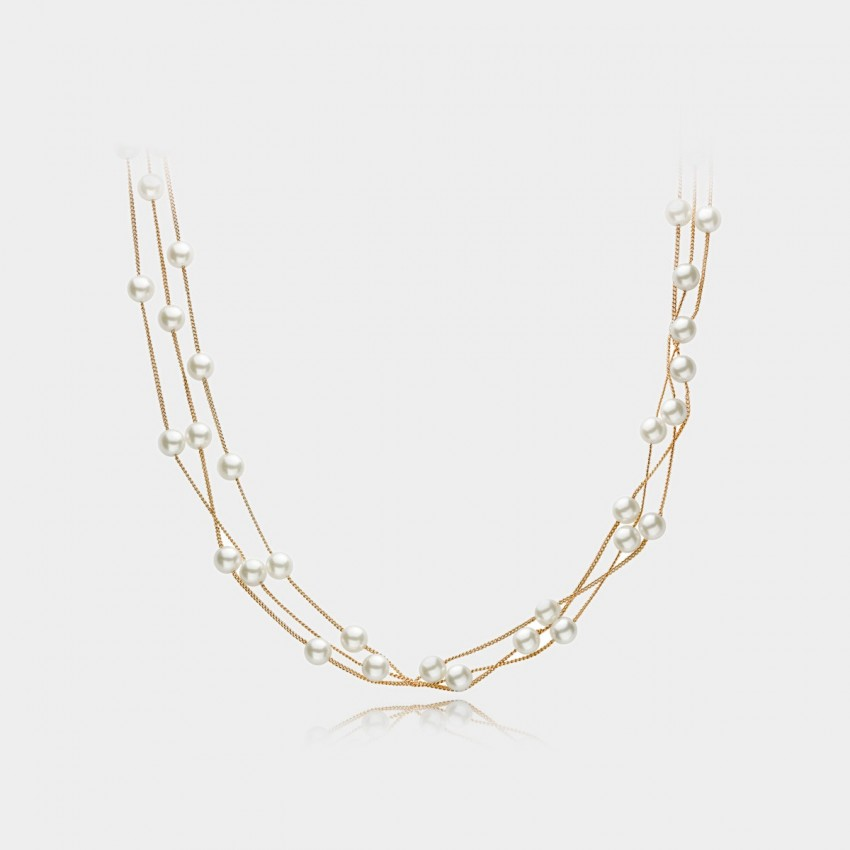 Caromay Love Nest Rose Gold Necklace (X0456)
