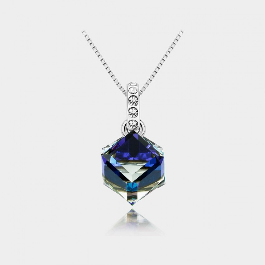 Caromay Prism Sapphire Necklace (X0457)