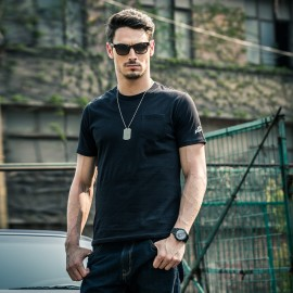 AK Fast & Furious 7 Black Pocket Tee (1500060)